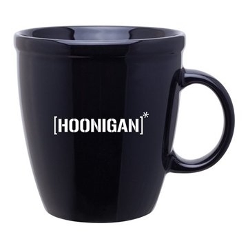 18 oz Coffee House Mug - black