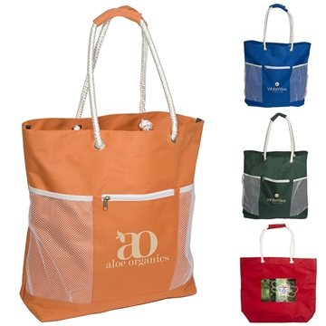 Polyester Seaside tote
