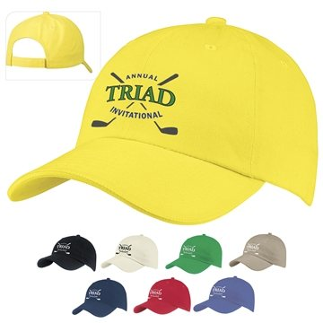 Traditional 6-Panel Front Runner Cap