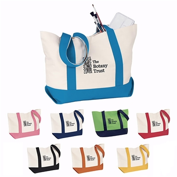 The Duck Medium Cotton Snap Tote Bag - 20'' x 13''