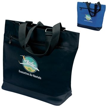 300D Micropoly Plaza Tote Bag