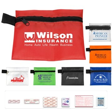 ''Riverside XL'' 15 Piece Healthy Living Pack Components inserted into Zipper Pouch