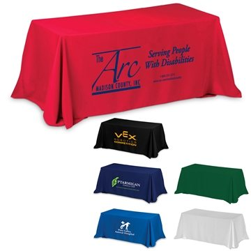 8'3-Sided Economy Table Covers & Table Throws