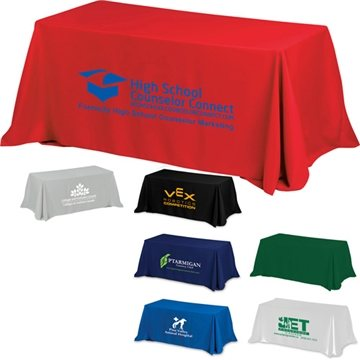 8' 4-Sided Throw Style Table Covers & Table Throws