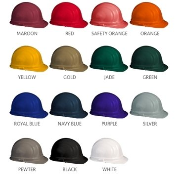 Pad Press Imprint Hard Hat- Hard Hat