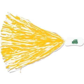 Contour Handle Imprinted Pom — 500 Streamers