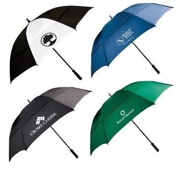 62'' Wind-Resistant Golf Umbrella with Fiberglass Shaft and Ribs