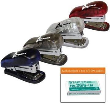 Translucent Stapler with Staple Remover and Staples