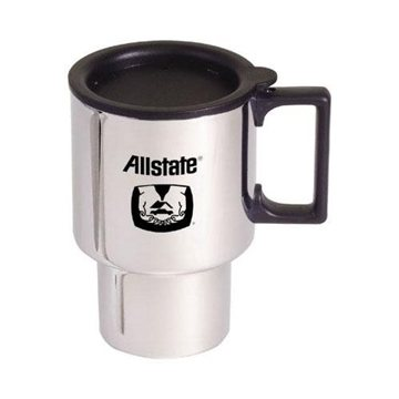 Chrome Finish Stainless Steel Commuter Mug