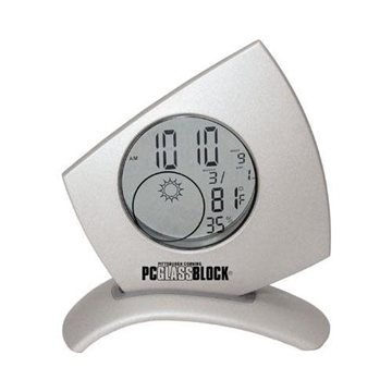 Die-Cast Transparent Weather Station with Light