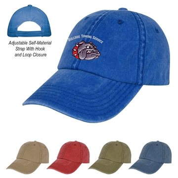 6 Panel Washed Cap