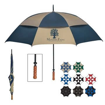 68'' Arc Windproof Vented Umbrella