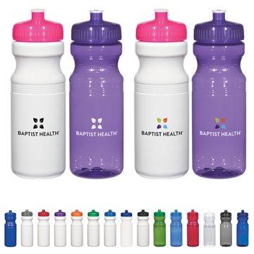 Poly-Clear™ 24 oz Fitness Bottle