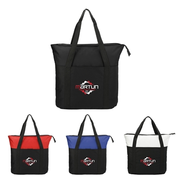 The Heavy Duty Zippered Business Tote Bag