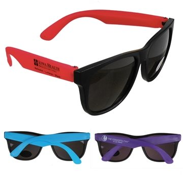Neon UVA & UVB Protection Sunglasses With Multiple Color Choices