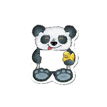 Panda Bear w/ Rubber Ducky - Design-A-Bear™