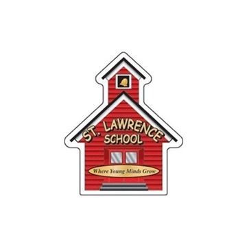 Schoolhouse - Die Cut Magnets