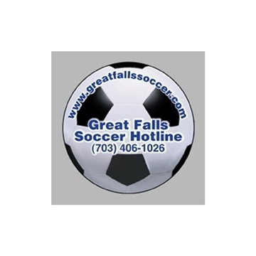 Soccer Ball - Die Cut Magnets