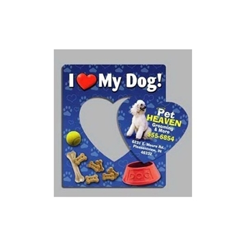 I Love My Dog - Picture Frame Magnets