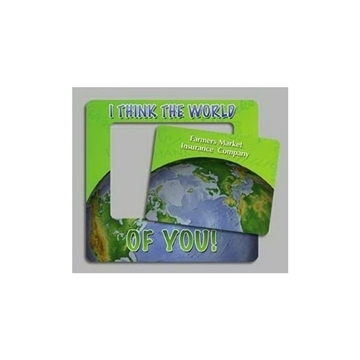 World - Picture Frame Magnets