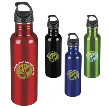 Kona 26 oz Stainless Steel Single-Wall Bottle