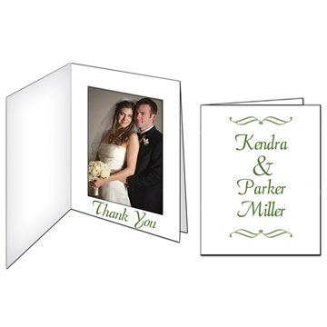 Photo Frame/Thank You Card- Paper Products