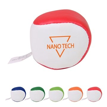 Vinyl Kick Sack Stress Ball