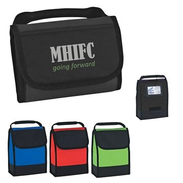 Folding Identification Lunch Bag