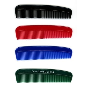 Deluxe 5'' Solid Color Comb