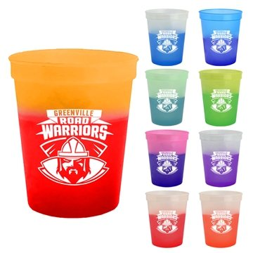 16 oz Cups On The Go Cool Color Changing Mood Cup