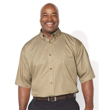 FeatherLite® Short Sleeve Twill Shirt Tall Sizes