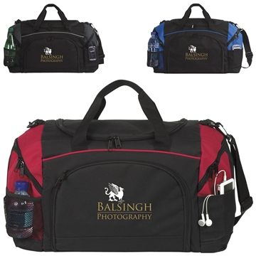 Polyester Perfect Score Duffel Bag 20''