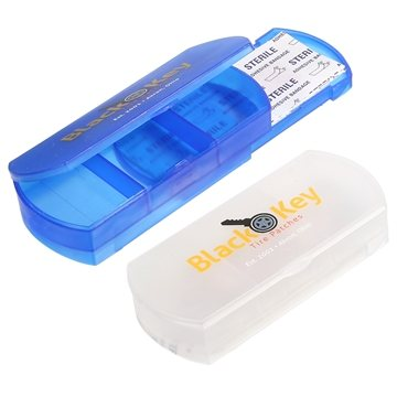 Health Case Bandage Holder Pill Box