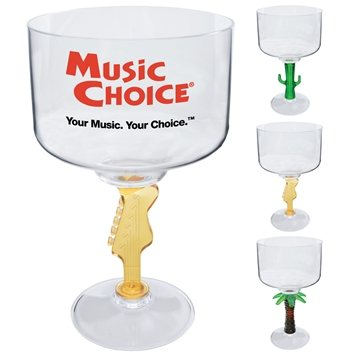 18 oz Novelty Stem Margarita - Plastic