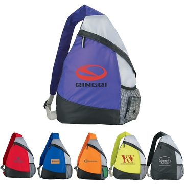 The Armada Polyester Sling Backpack - 13'' x 16.25''