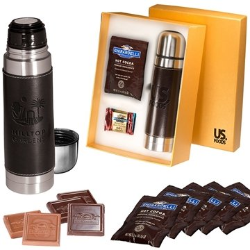 Empire™ Thermos & Ghirardelli® Deluxe Gift Set