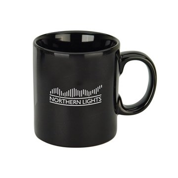 20 oz Jolt Black Jumbo Ceramic Mug