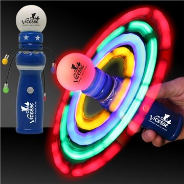LED Galaxy Spinner Wand - 8''