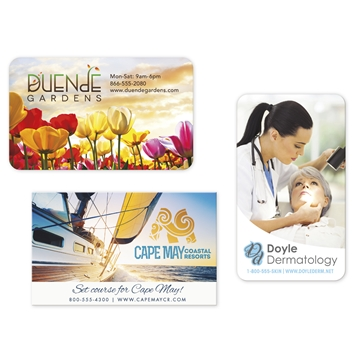 BIC® 30 Mil Jumbo 4-Color Process Business Card Magnet