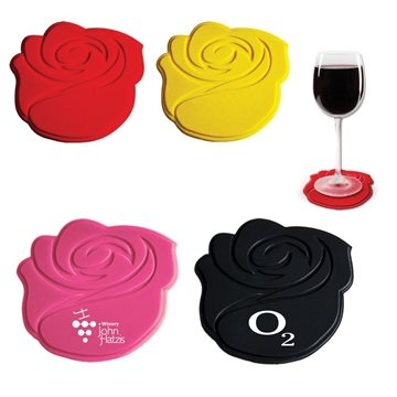 Silicone Rose Coaster