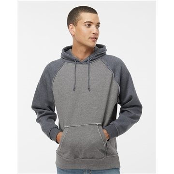 J. America Vintage Heather Hooded Sweatshirt