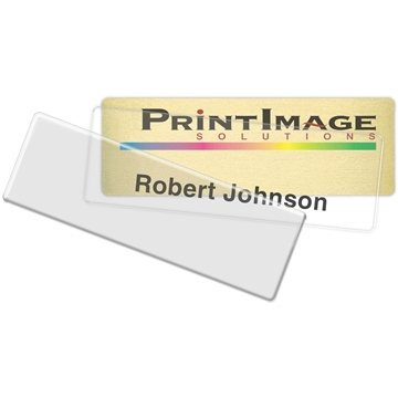 Click-It Complete Name Badge: 1'' x 3''