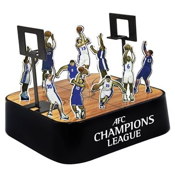 Colored Basketball Magnetic Sculpture Block