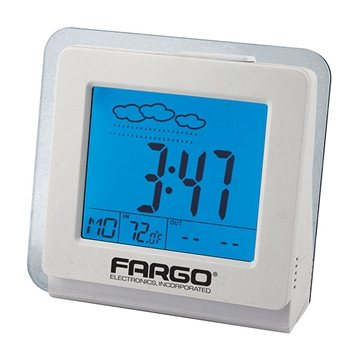 Desktop Weather Clock with USB Connection