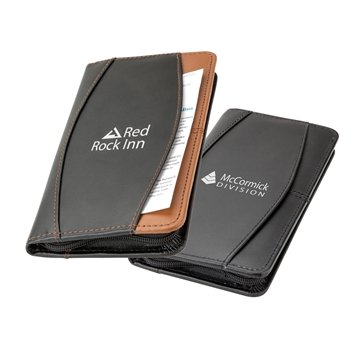Jacksonville Leather Travel Wallet