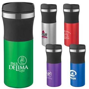 Malmo 16 Oz Stainless Steel Travel Tumbler With Multiple Color Choices