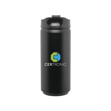 12 oz SS Can - matte black
