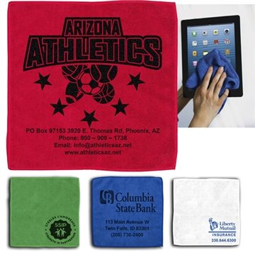 300GSM Heavy Duty Microfiber Electronics, Rally or Fitness Towel