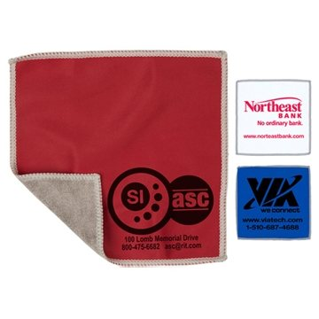 2-in-1 Spot Color Microfiber Cleaning Cloth and Towel