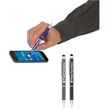 Multi-Ink Metal Ballpoint Pen-Stylus